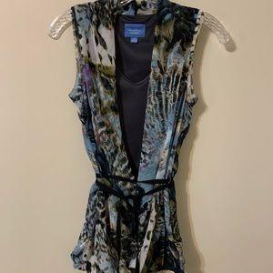 Vera Wang/ Simply Vera sleeveless top, size: XS